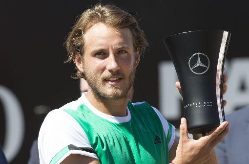 Lucas Pouille gewinnt Turnier in Stuttgart