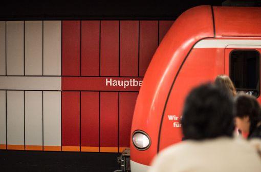 Schlägerei in der S-Bahn