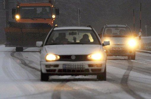 Anders als erwartet passieren in der Region Stuttgart trotz glatter Straßen nur wenige Unfälle. (Symbolbild) Foto: dpa (Symbolbild)