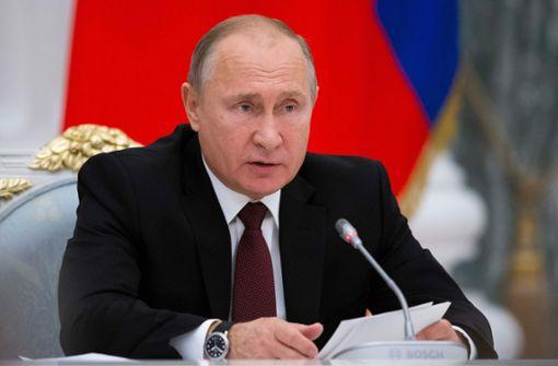 Putin fordert Kontrollinstanz für Rap-Texte