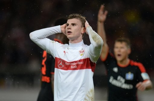 Wie lange trägt Timo Werner noch das Trikot des VfB Stuttgart? Foto: dpa