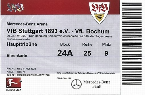 Heimspiele des VfB Stuttgart sollen  plötzlich bis zu 100 Prozent mehr Eintritt kosten als  bisher  – bedingt durch die Kooperation mit der Ticketbörse Viagogo. Viele Anhänger fürchten eine Preistreiberei und laufen Sturm. Foto: StN