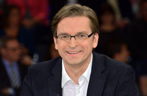 Moderator Claus Strunz sorgt derzeit für Gesprächsstoff im Netz Foto: dpa-Zentralbild