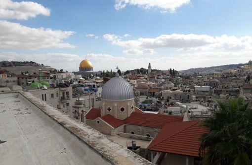 Säbelschwingend Feldzüge nach Jerusalem angekündigt