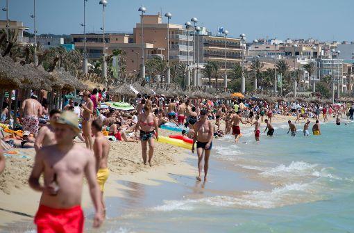 Auf Urlauber kommen höhere Anzahlungen zu