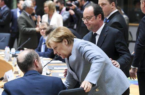Brexit schweißt EU 27 zusammen