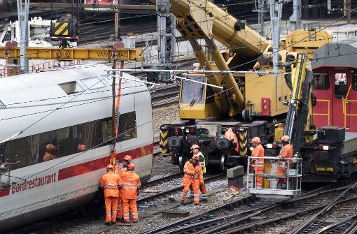 Schweizer Zugverkehr rollt wieder