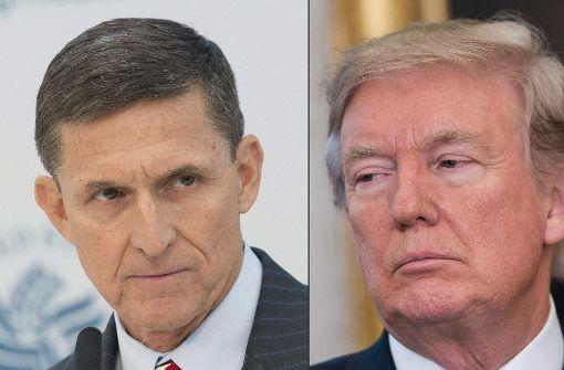 Funkstille bei Michael Flynn und Donald Trump