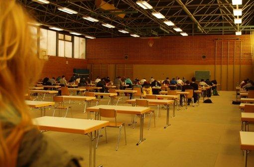 Derzeit schreiben die Studenten Prüfungen in der Keltenschanze. Foto: Rüdiger Ott