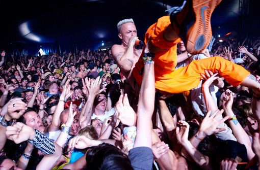 . . . Blicke auf die südafrikanische Band Die Antwoord . . . Foto: Steffen Schmid