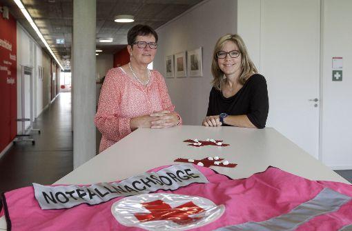 Ute Widmann (links) und Monika Friedrich Foto: factum/Bach