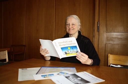 Gabriele Wickenhäuser ist Multiplikatorin für den Bürgerhaushalt. Foto: Alexandra Kratz