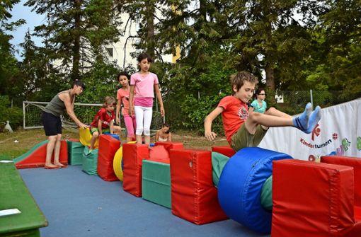 Musik, Spiel,  Spaß und viel Bewegung