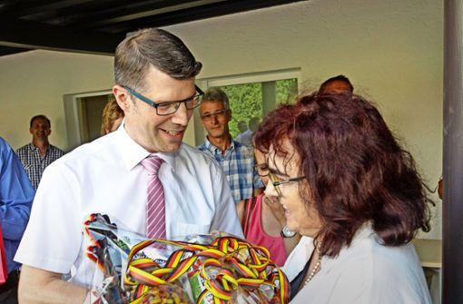Matthias Schöck ist im Amt des Schultes bestätigt worden. Foto: factum/Bach