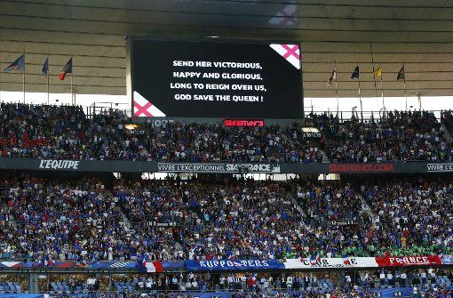 Französische Fans sorgen für Gänsehaut-Moment