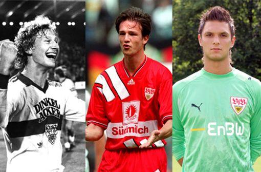 Manche VfB-Stars haben sich kaum verändert, andere sind fast nicht wiederzuerkennen. Foto: Baumann