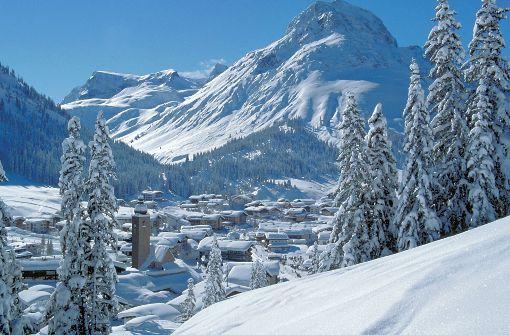 Die neue Bahn verbindet die Orte Lech am Arlberg ... Foto: Ski Arlberg
