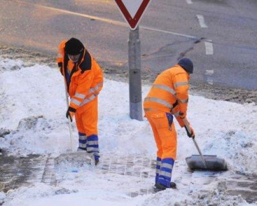 Schnee bereitet weniger Probleme