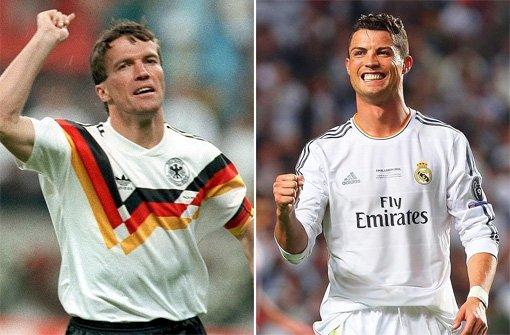 Von Lothar Matthäus bis Cristiano Ronaldo