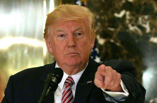 Republikaner rücken von Trump ab