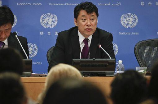 Nordkorea droht mit weiteren Raketentests