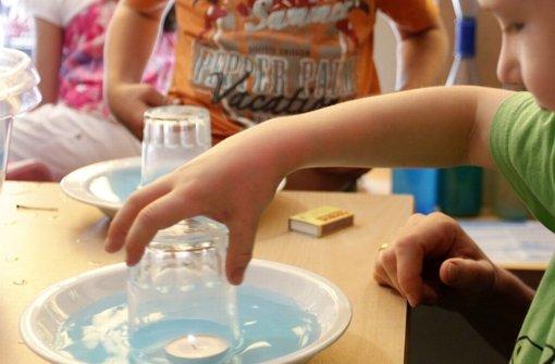 hallschlag: kindergarten wird zum haus der kleinen forscher - bad, Hause ideen