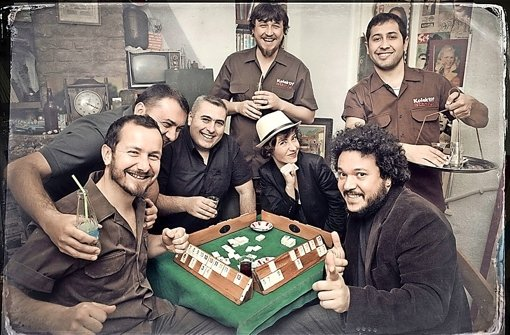 Angesagte Band der Istanbuler Clubszene: Kolektif Istanbul Foto: