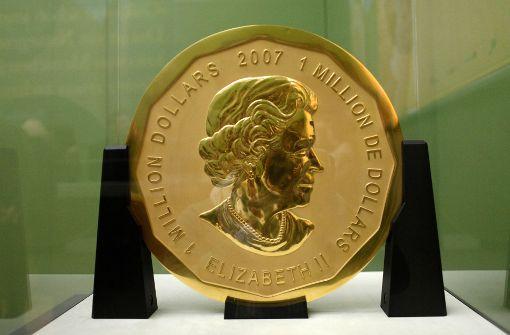 Goldmünzen Diebstahl In Berlin Museumsdiebe Sollen Münze Verkauft