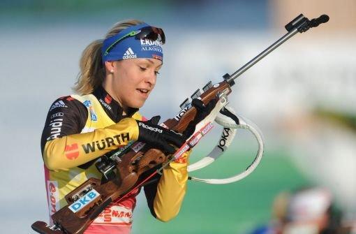 Sprint-Gold für Magdalena Neuner