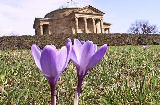 Lange Zeit war es zu eisig für einen Besuch. Die Grabkapellen-Saison beginnt dieses Jahr  erst an Ostern. Foto: Kuhn