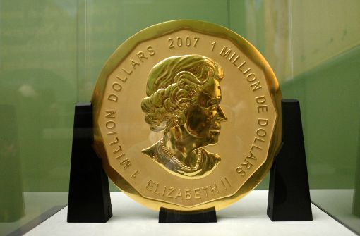 100-Kilo-Goldmünze aus Berliner Museum entwendet