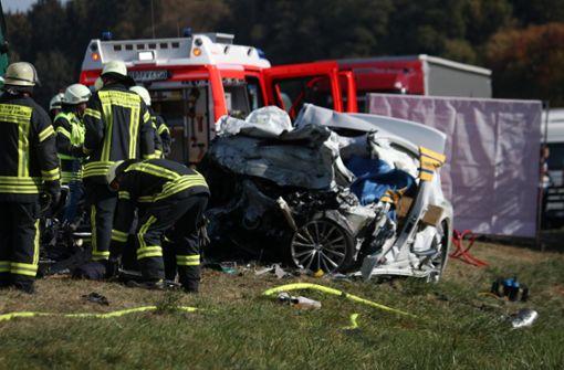 Autofahrer stirbt nach Überholmanöver – B29 komplett gesperrt