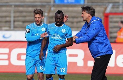 Stuttgarter Kickers wieder auf Aufholjagd