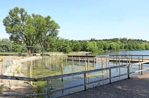 Neue Flachwasserzone für den Max-Eyth-See
