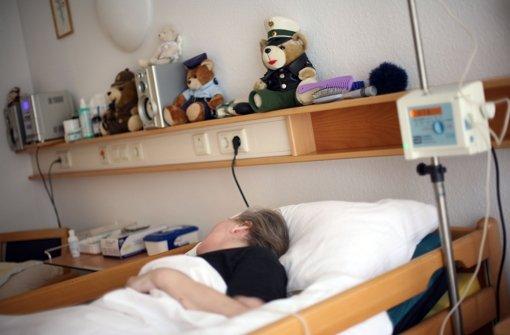 Was, wenn ein Mensch nicht mehr leben will? Die Sterbehilfe steht derzeit wieder in der Debatte Foto: dpa
