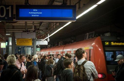 Die Pünktlichkeitsprobleme der S-Bahn werden die Fahrgäste weiter beschäftigen. Foto: Lichtgut/Achim Zweygarth