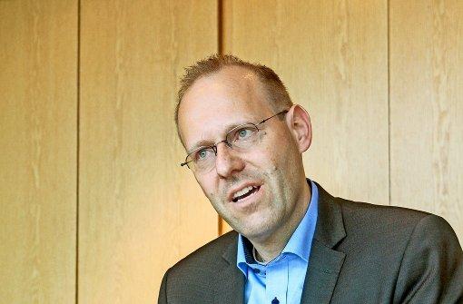 Bernd  Vöhringer sieht sich als Foto: factum/Granville