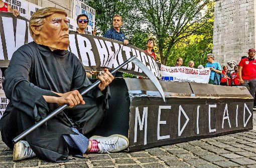 Obamacare muss für Steuersenkung bluten