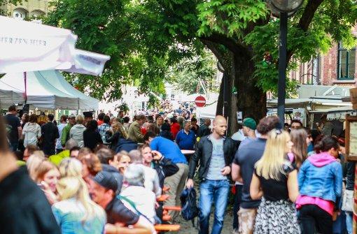 Wieder mal großer Andrang beim Heusteigviertelfest in Stuttgart. Foto: 7aktuell.de/Friedrichs