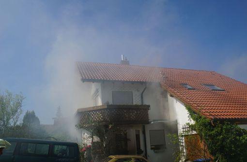 Familienhaus nach Brand unbewohnbar