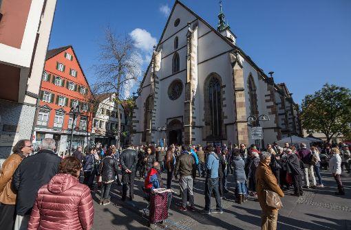 Wiedmann-Bibel erstreckt sich auf eineinhalb Kilometern