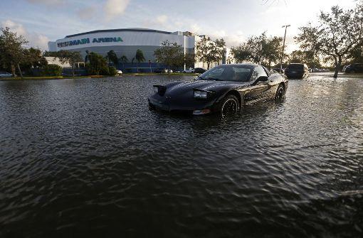 """Hurrikan """"Irma"""" trifft auch die im Süden der USA angesiedelte Autoindustrie. Foto: AP"""