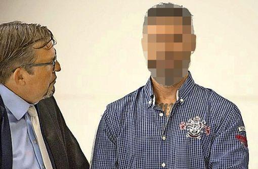 Mehmet Bagci mit einem seiner Verteidiger, dem Stuttgarter Juristen Tobias Voggel Foto: Lichtgut / Piechowski