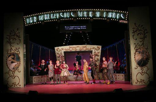 Der Vorgang zum Magical Circus öffnet sich.  Foto: Ines Rudel