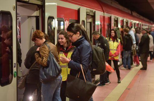 Neue Technik für schnellere S-Bahnen