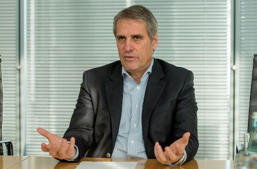 Daimler-Arbeitsdirektor Wilfried Porth erwartet von der möglichen Jamaika-Koalition wenig, was die erwünschte Änderung des Arbeitszeitgesetzes angeht. Foto: dpa