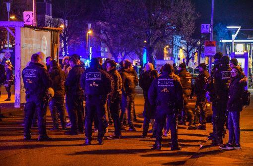Kurdenmarsch in Straßburg angekommen