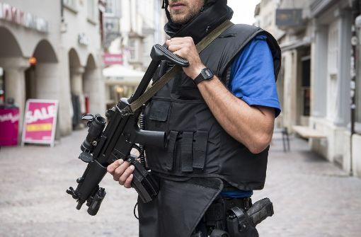 Große Polizeiaktion in Umgebung von Schaffhausen
