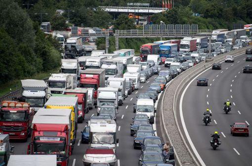 Staurekord auf deutschen Autobahnen in 2018