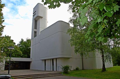 Die denkmalgeschützte Gartenstadtkirche ist aus dem Stadtbild Foto:
